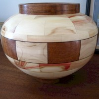 Box Elder (turned, with Jatoba and Hard Maple)