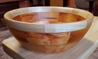 Buckthorn and Hard Maple (turned)