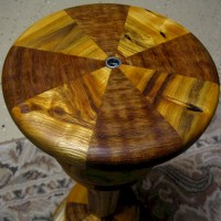 Buckthorn and Jatoba (turned)