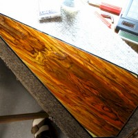 Cocobolo (kaleidoscopic colors)