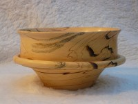European Hornbeam: spalted (turned)