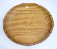 Iroko (turned)
