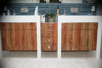 Pistachio cabinets (Dean Garrett)