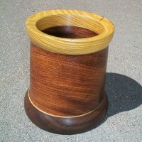 Yucatan Rosewood (turned)
