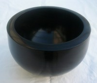 Gaboon Ebony (turned)