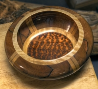 Tineo and Snakewood (turned)