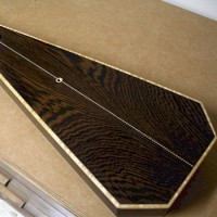 Wenge (bookmatched)