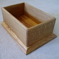 Quartersawn White Oak box